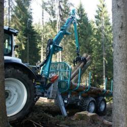 Przyczepa leśna Pfanzelt P13