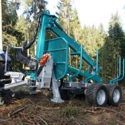 Przyczepa leśna Pfanzelt P15