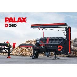 PIŁO-ŁUPARKA PALAX  D360 ERGO COMBI  7,5kW+WOM