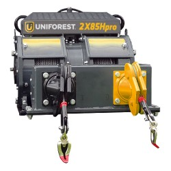 Wciągarka dwubębnowa Uniforest 2x85Hpro
