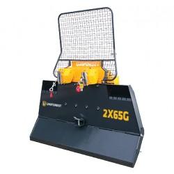 Wciągarka elektrohydrauliczna  2x65G (2,10m) z łamaną płytą