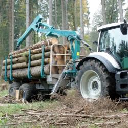 Przyczepa leśna Pfanzelt L14