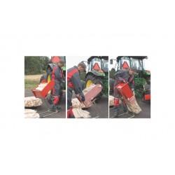 Rynna do pakowania drewna w worki Palax Packer
